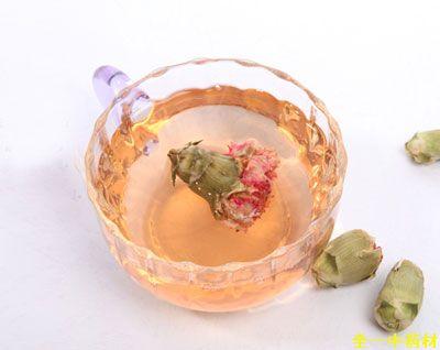 康乃馨花茶泡水