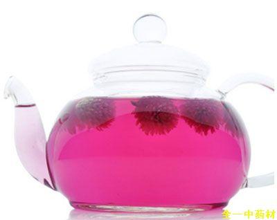 千日红花茶泡水